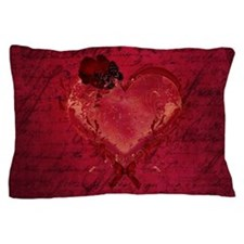 Red Love Letter Pillow Case