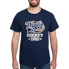 Hockey Dad (Worlds Best) T-Shirt