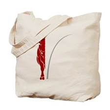Under the dome - half a cow Tote Bag