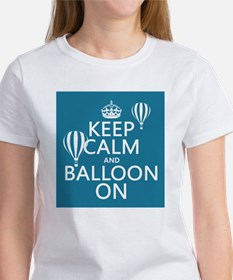 Keep Calm and Balloon On T-Shirt