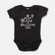 Keep Calm and Balloon On Baby Bodysuit