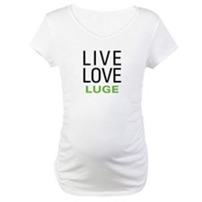 Live Love Luge Shirt