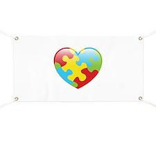 Autism Heart Banner