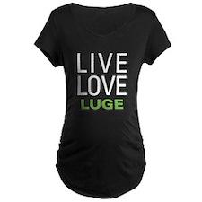 Live Love Luge T-Shirt