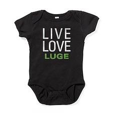 Live Love Luge Baby Bodysuit