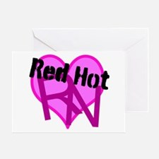 Red Hot RN Greeting Cards