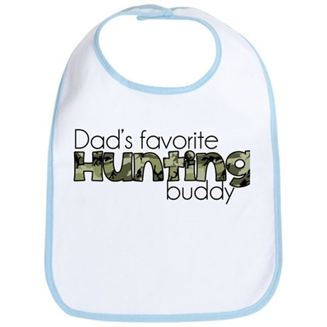 Dads Favorite Hunting Buddy Bib