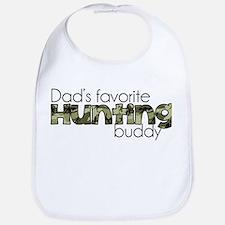 Dads Favorite Hunting Buddy Bib