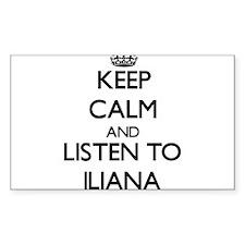 Keep Calm and listen to Iliana Decal