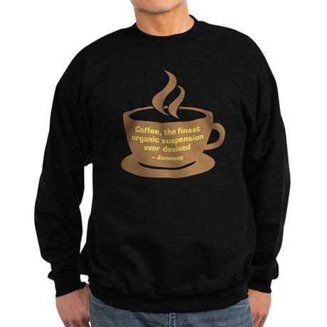 Star Trek Janeway Coffee Sweatshirt (dark)