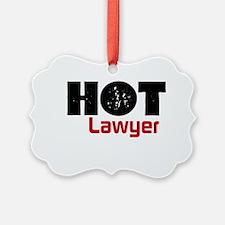 Hot Lawyer Ornament