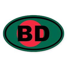 Bangladesh flag BD Decal