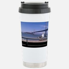 Bay Bridge & Friend Stainless Steel Travel Mug