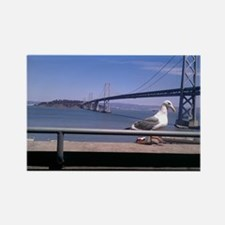 Bay Bridge & Friend Rectangle Magnet