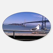 Bay Bridge & Friend Decal