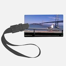 Bay Bridge & Friend Luggage Tag