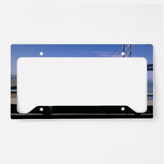 Bay Bridge & Friend License Plate Holder