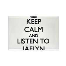 Keep Calm and listen to Jaelyn Magnets