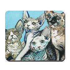 Sphynx Kittens Mousepad