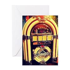 1947 Crosley Jukebox Greeting Card