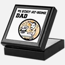 #1 Stay-At-Home Dad Keepsake Box