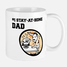 #1 Stay-At-Home Dad Mug