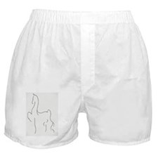 Stylised Saddlebred Boxer Shorts