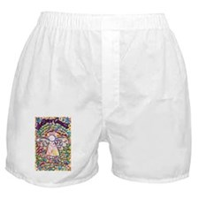 Spring Hearts Cancer Angel Boxer Shorts