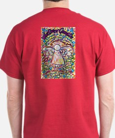 Spring Hearts Cancer Angel T-Shirt