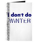 I dont do Winter Journal