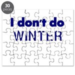 I dont do Winter Puzzle