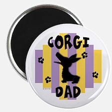 Corgi Dad Magnet