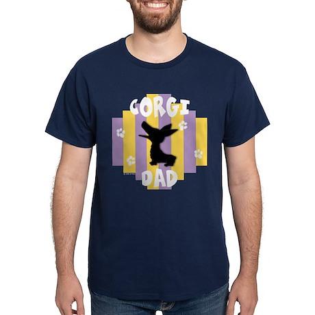 Corgi Dad Dark T-Shirt