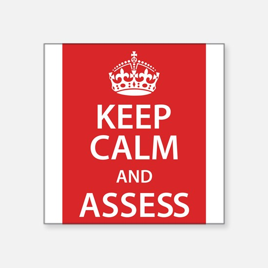 Assess Sticker