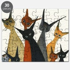 Irvine Stray Cats Puzzle
