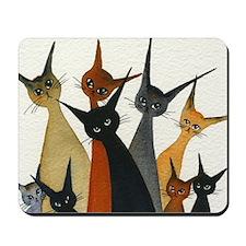 Irvine Stray Cats Mousepad