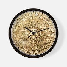 Aztec Design Wall Clock
