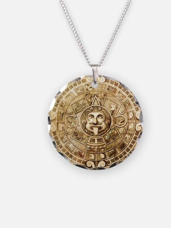 Aztec Design Necklace