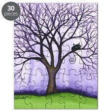 Newton Stray Cat in Tree Puzzle