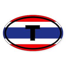 Thailand flag T Decal