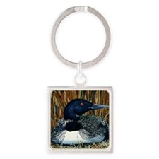 Anderson Loon Square Keychain
