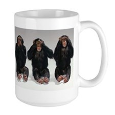 Speak No Evil, See No Evil, Hear No Evil Mugs