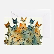 Charlottesville Stray Cats Greeting Card