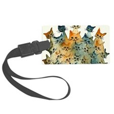 Charlottesville Stray Cats Luggage Tag