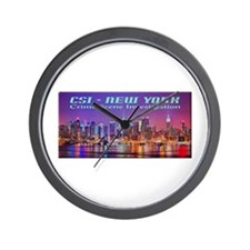 CSI New York Skyline Wall Clock