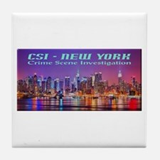 CSI New York Skyline Tile Coaster