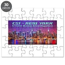 CSI New York Skyline Puzzle