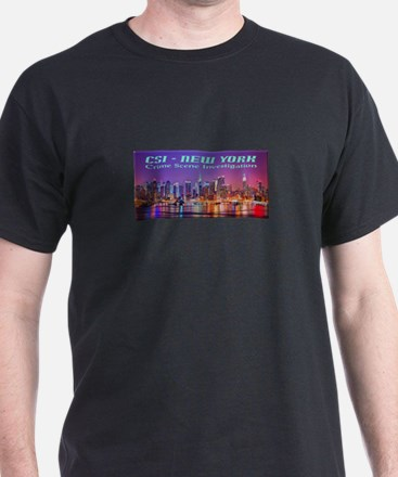 CSI New York Skyline T-Shirt