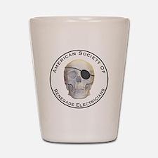 Renegade Electricians Shot Glass