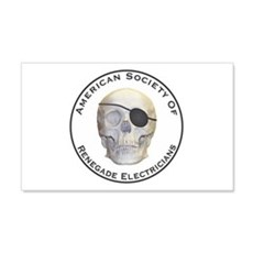 Renegade Electricians Wall Decal